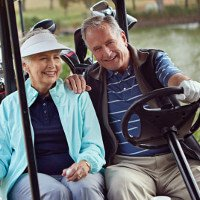 Older couple likely candidates for cataracts